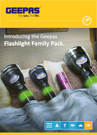 Geepas Flashlight Family Pack