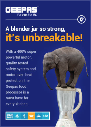 Geepas Blender Jar