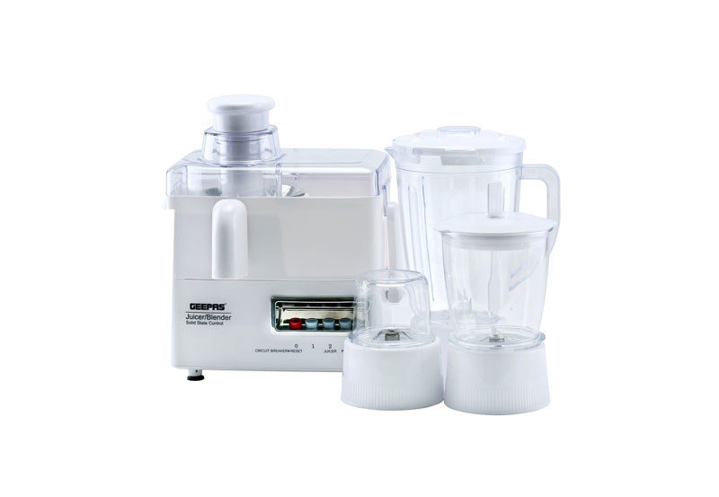 4 IN 1 FOOD PROCESSOR - GSB5439NG | Geepas For You. For life.